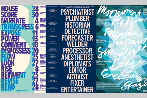 GSAPP Projects 2008–2014  - MTWTF